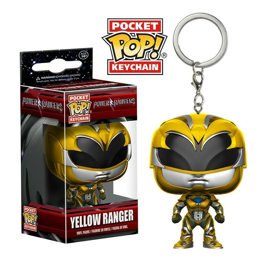 POCKET POP Keychains - Yellow Ranger
