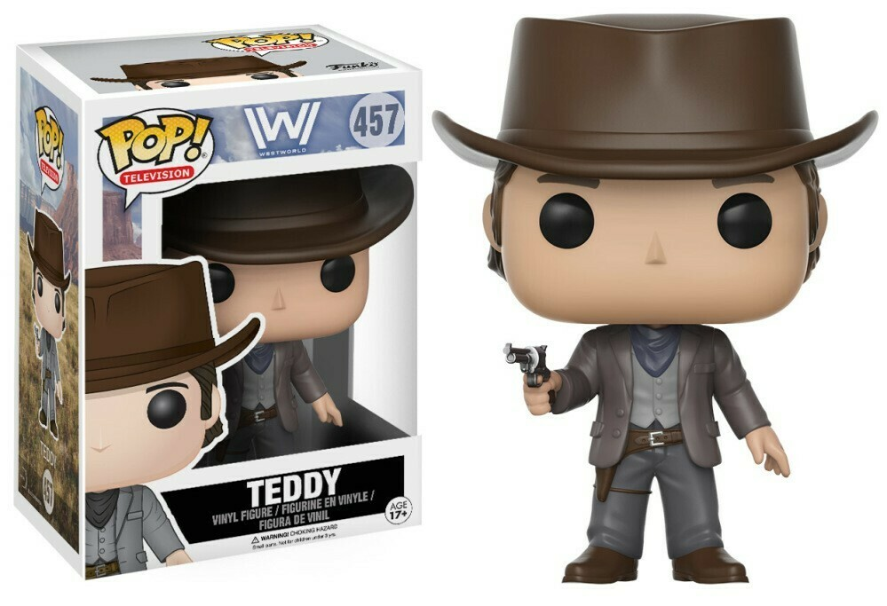 POP Funko Television - Westworld - Teddy 457