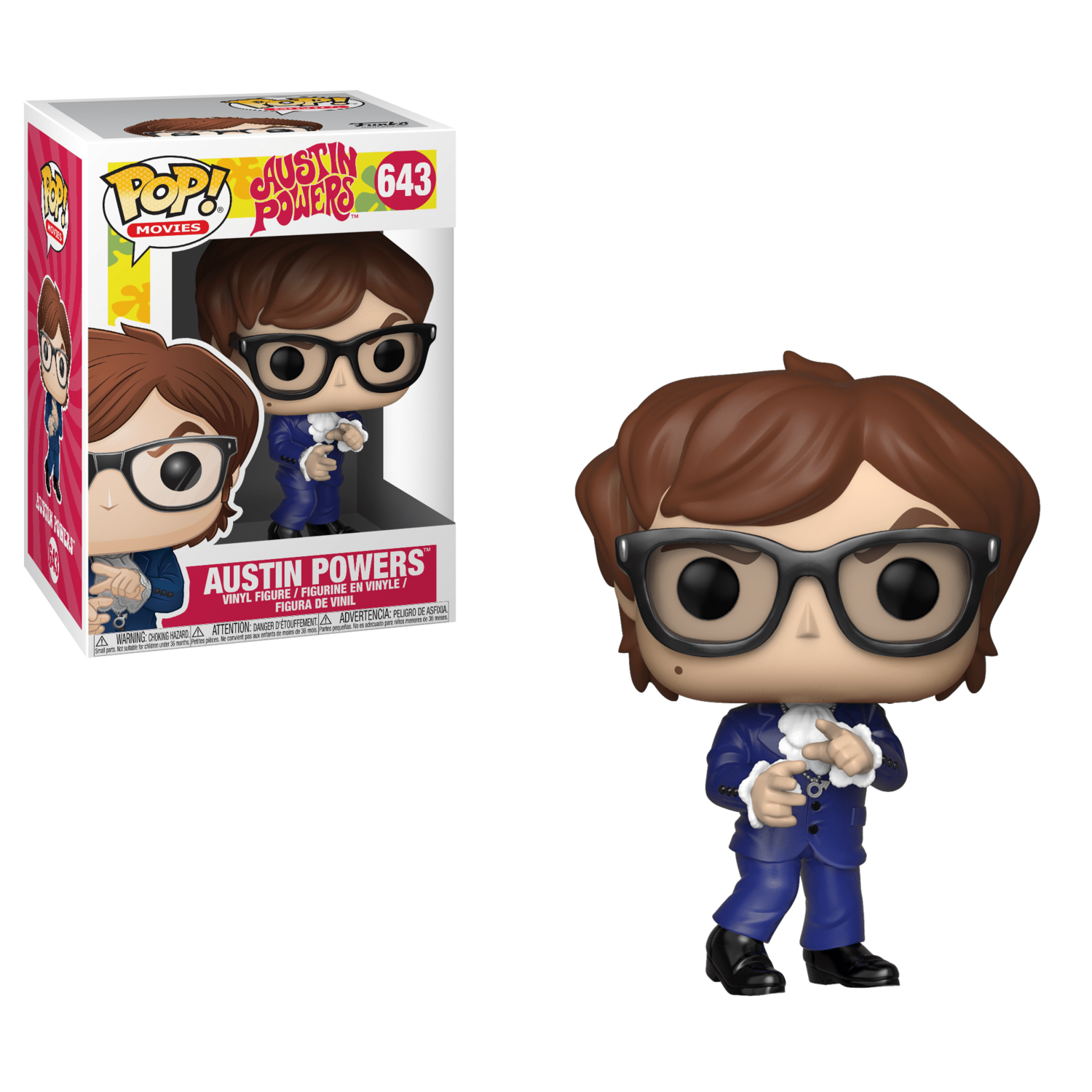 POP Funko #643 - Austin Powers