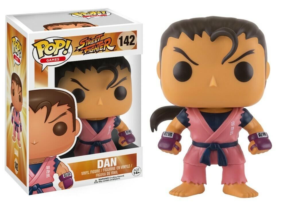 POP Funko - Street Fighter - Dan 142