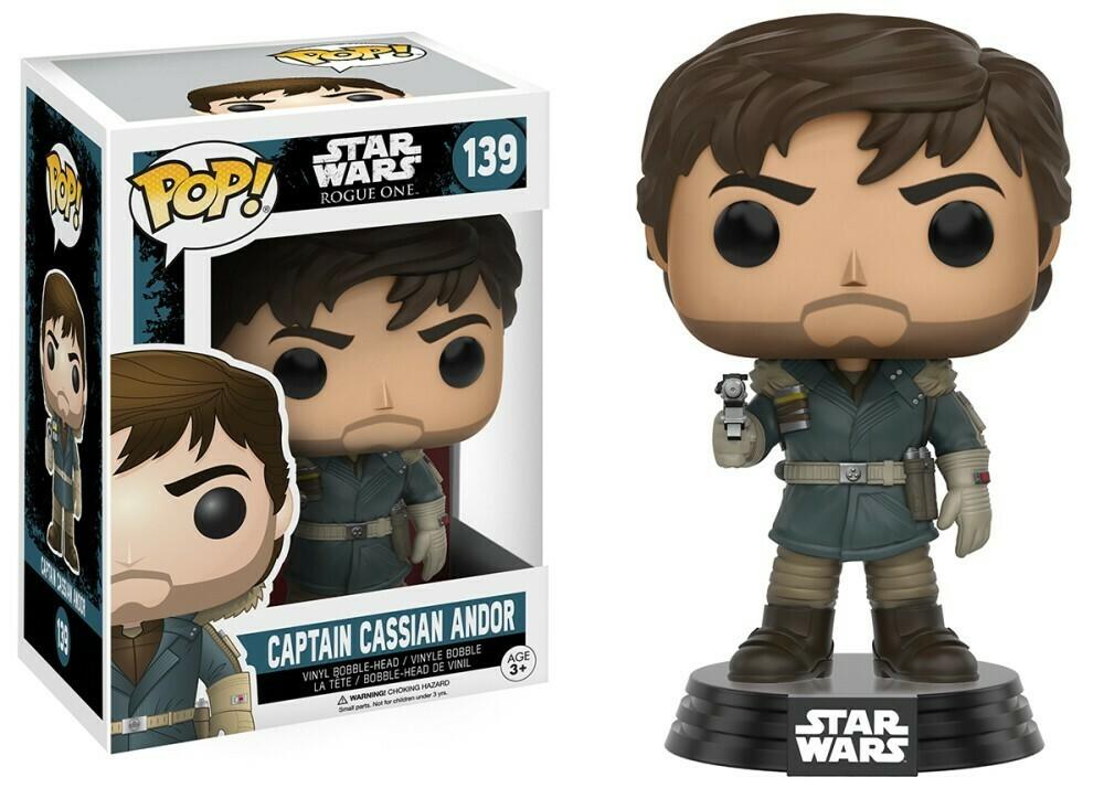 POP Funko - Star Wars Rogue One Capitan Cassian Andor 139