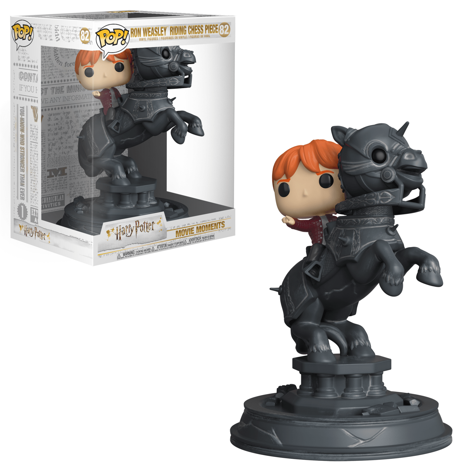 POP Funko - Harry Potter - Ron Weasley riding chess piece