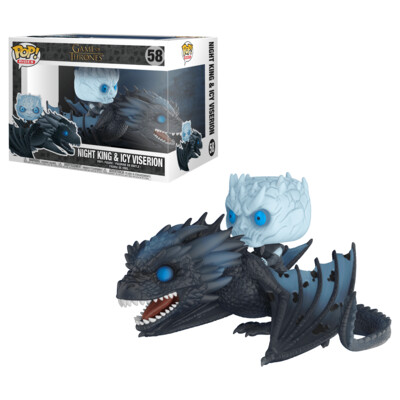 POP Funko - Game of Thrones - Night King & Icy Viserionn #58