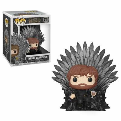 POP Funko - Tyrion on Iron Throne #63