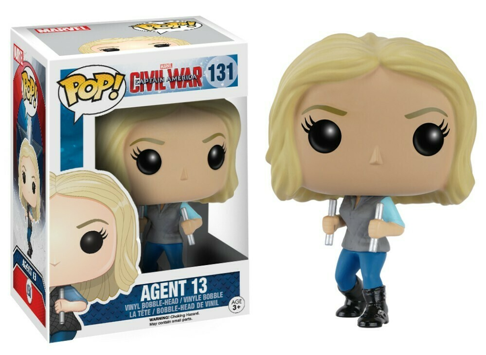 POP Funko - Civil War - Agent 13 #131