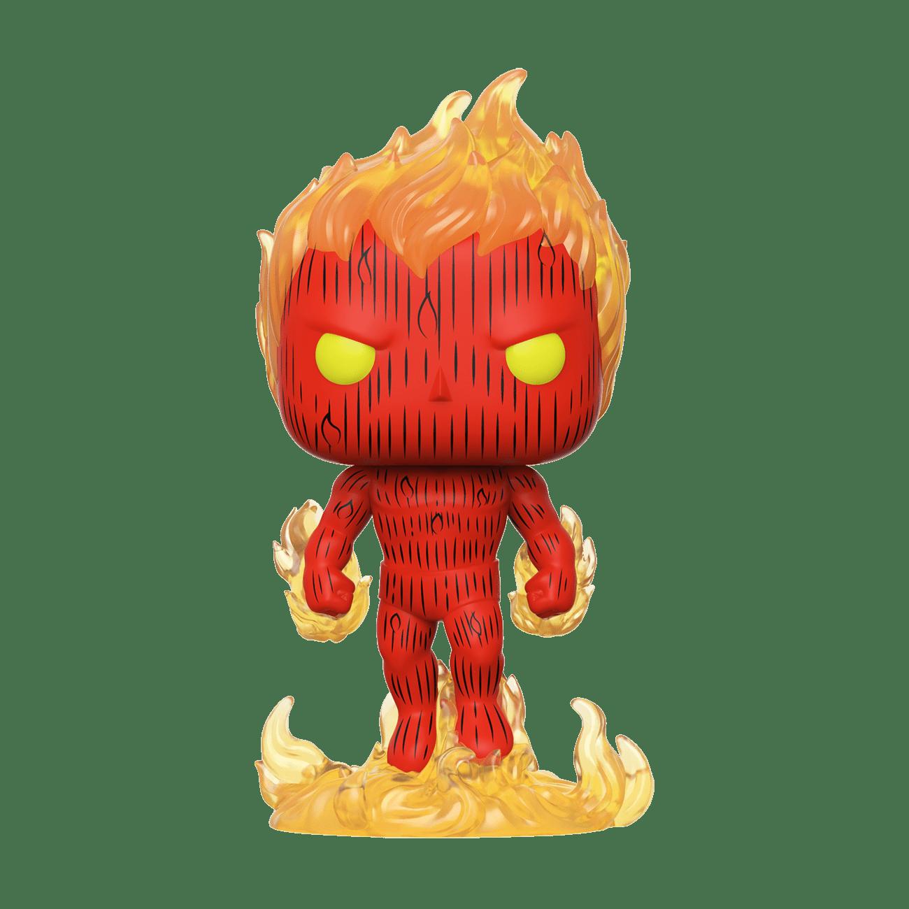 POP Funko - Fantastic Four - Human Torch #559