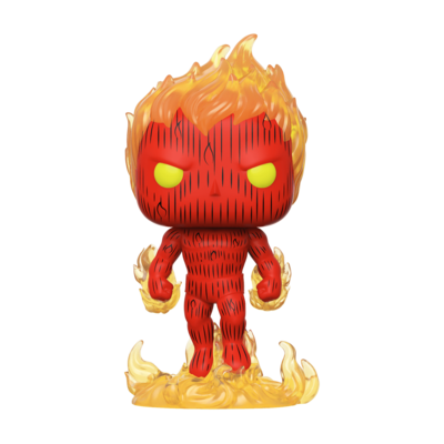 POP Funko - Fantastic Four - Human Torch #559