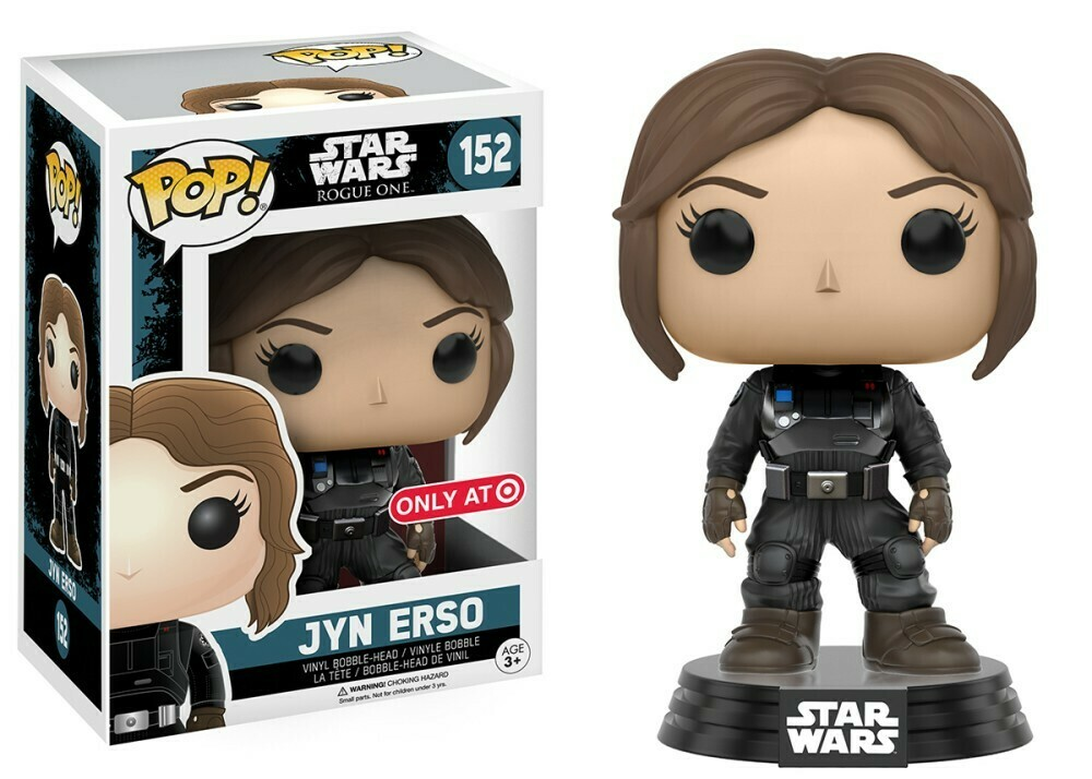 POP Funko - Star Wars Rogue One - Jyn Erso (imperial disguise) #152