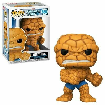 POP Funko - Fantastic Four - The Thing #560