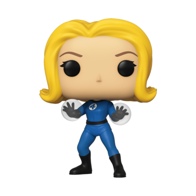 POP Funko - Fantastic Four - Invisible Girl #558