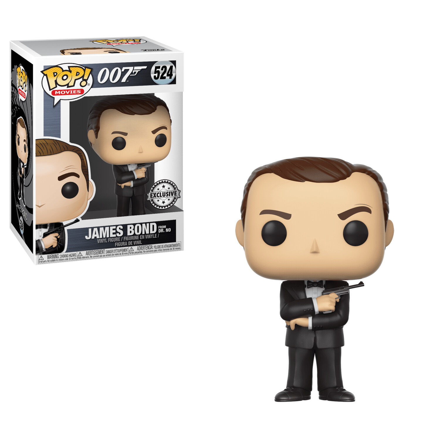 POP Funko #522 - James Bond Sean Connery