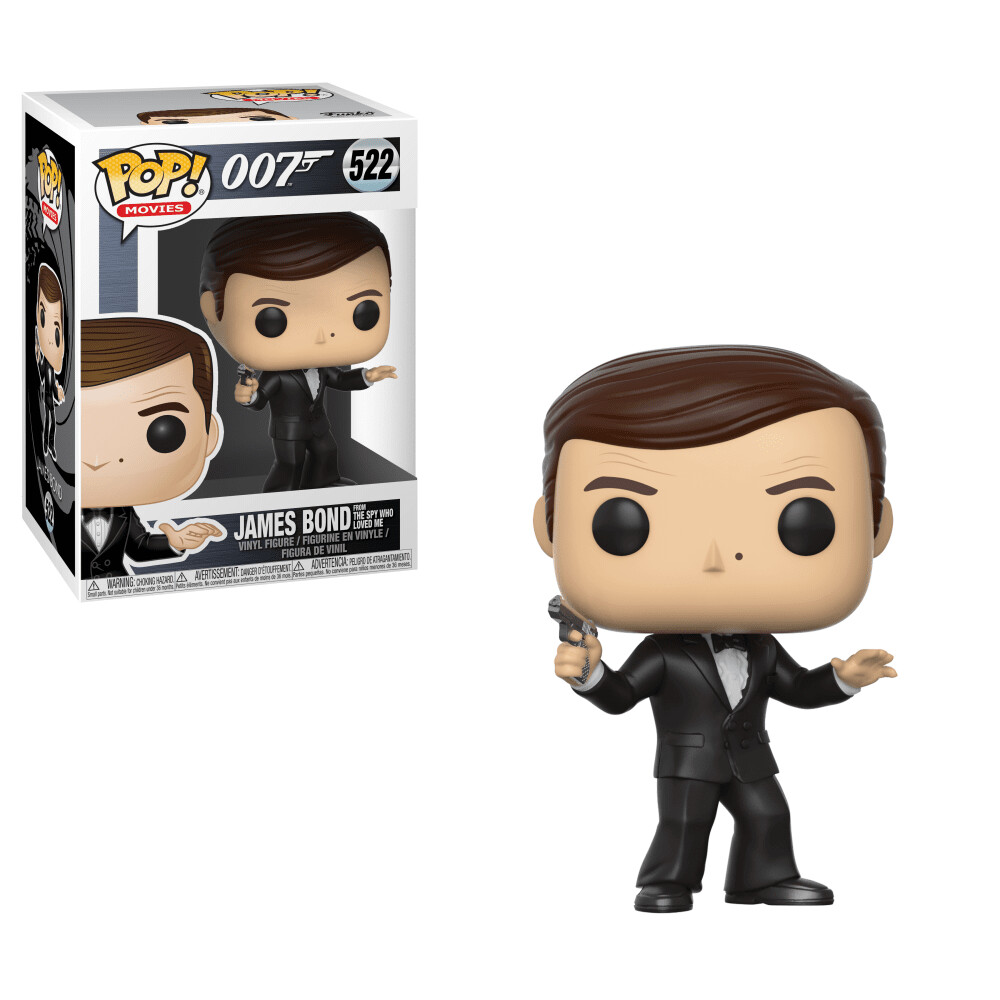 POP Funko #522 - James Bond Roger Moore