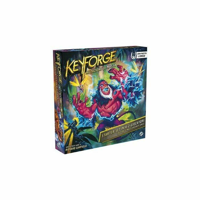 Keyforge Starter - Mutazione di Massa
