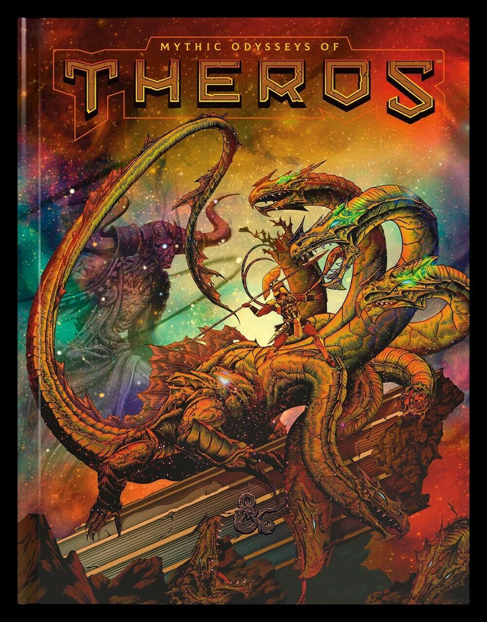 D&D Mythic Odyssey of Theros Edizione Limitata - Quinta Ed.