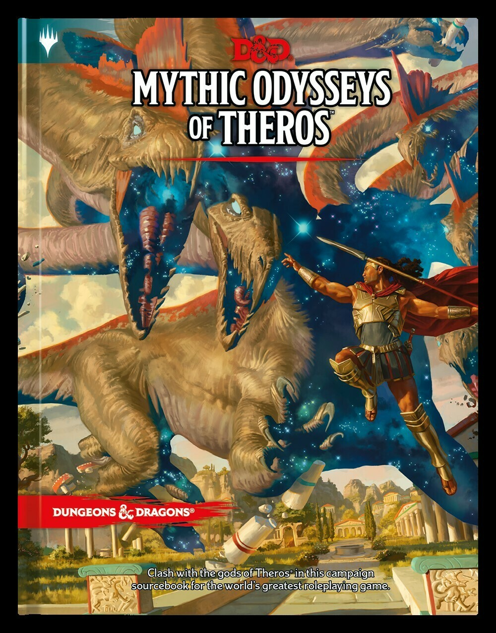 D&D Mythic Odyssey of Theros - Quinta Ed.