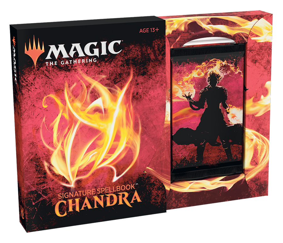 Chandra Signature Spellbook - Magic: the Gathering