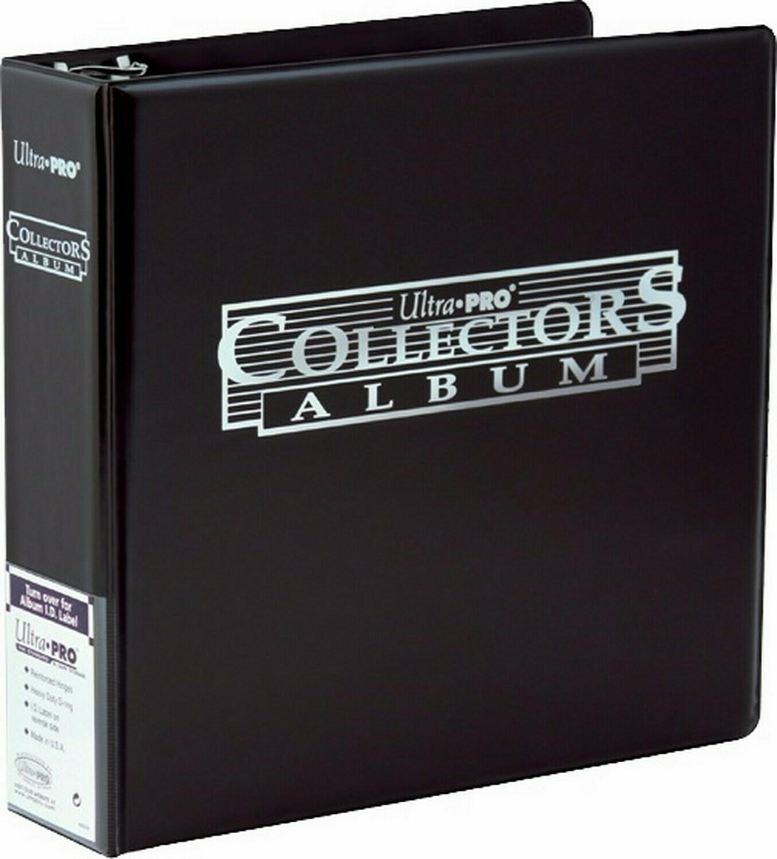 Collectors Album anelli nero