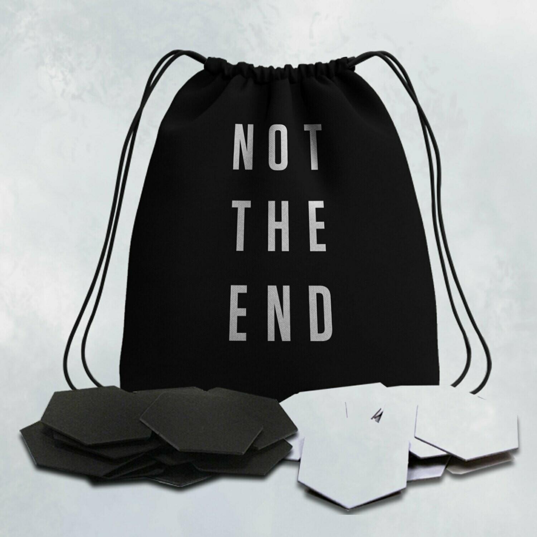Not The End - Token Esagonali + Sacchetto