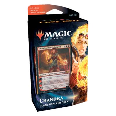 Set Base 2021 Mazzo Planeswalker Chandra - Magic: the Gathering