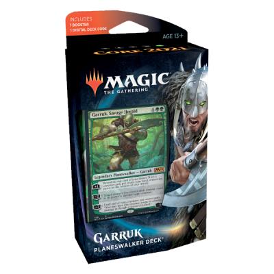 Set Base 2021 Mazzo Planeswalker Garruk - Magic: the Gathering