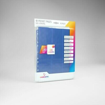 18 Pocket Pages side Loading - Blue