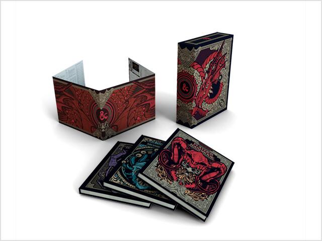 D&D Gift Set Manuali base Ed. Italiana