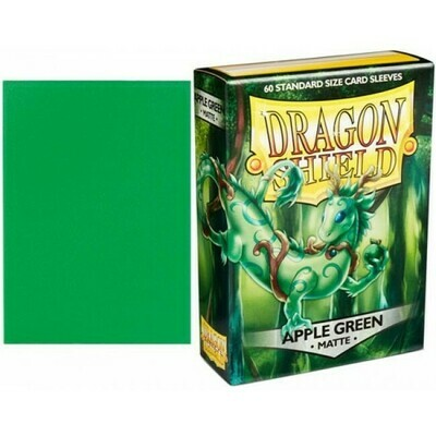 Dragon Shield 60 Sleeves - Matte Apple Green