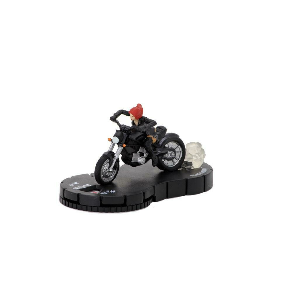 Heroclix Black Widow on Motorcycle