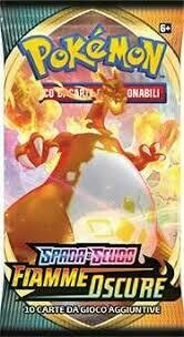 Spada e Scudo, Fiamme Oscure Busta - Pokemon