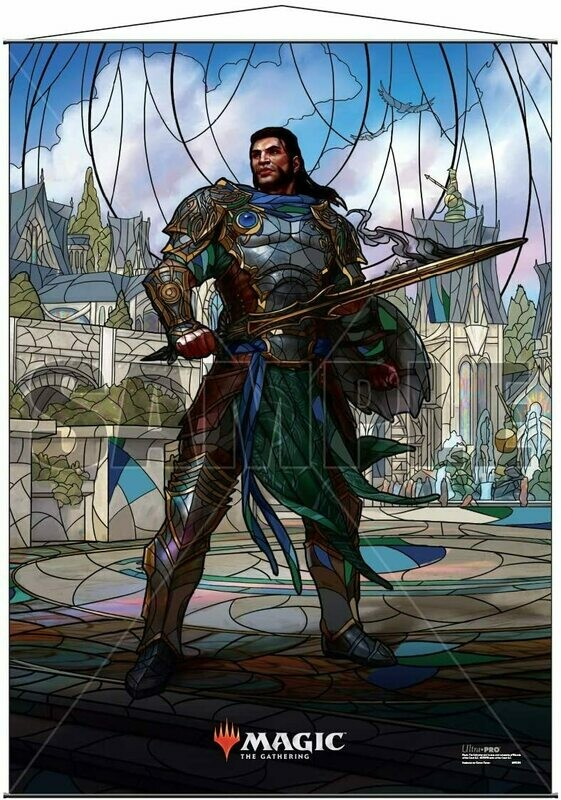 Ultra Pro - Wall Scroll - Magic : The Gathering - Stained Glass Gideon