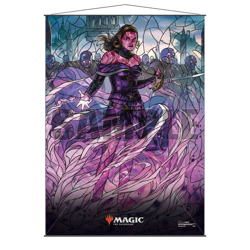 Ultra Pro - Wall Scroll - Magic : The Gathering - Stained Glass Liliana
