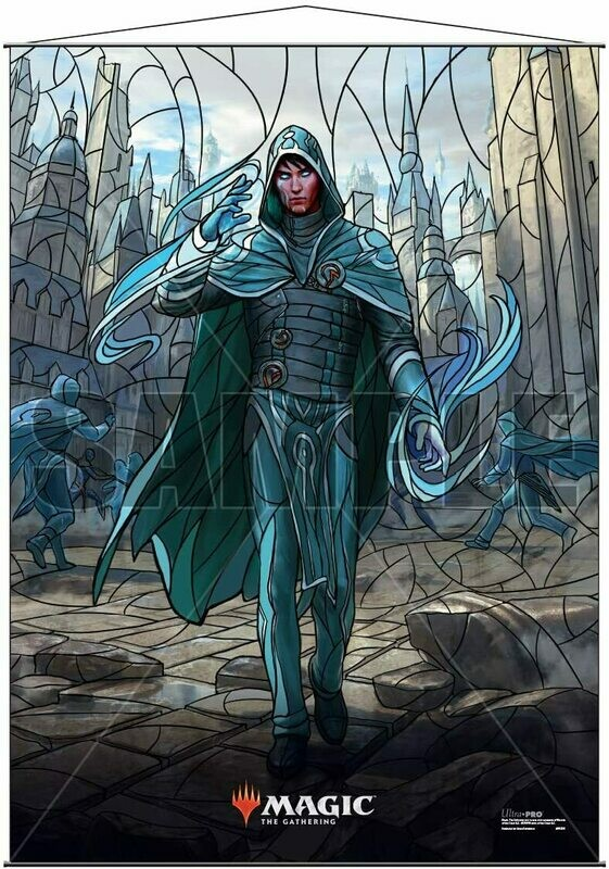 Ultra Pro - Wall Scroll - Magic : The Gathering - Stained Glass Jace