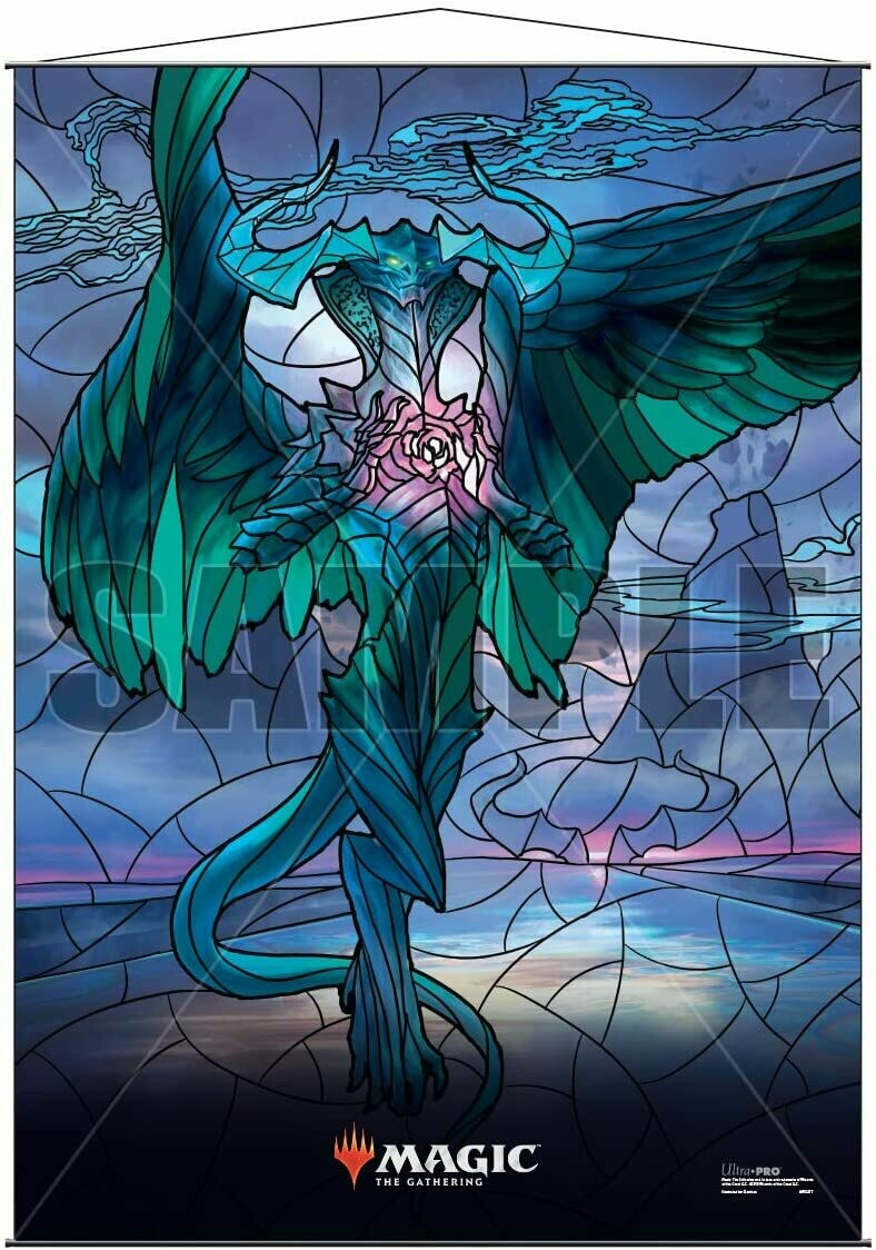 Ultra Pro - Wall Scroll - Magic : The Gathering - Stained Glass Ugin