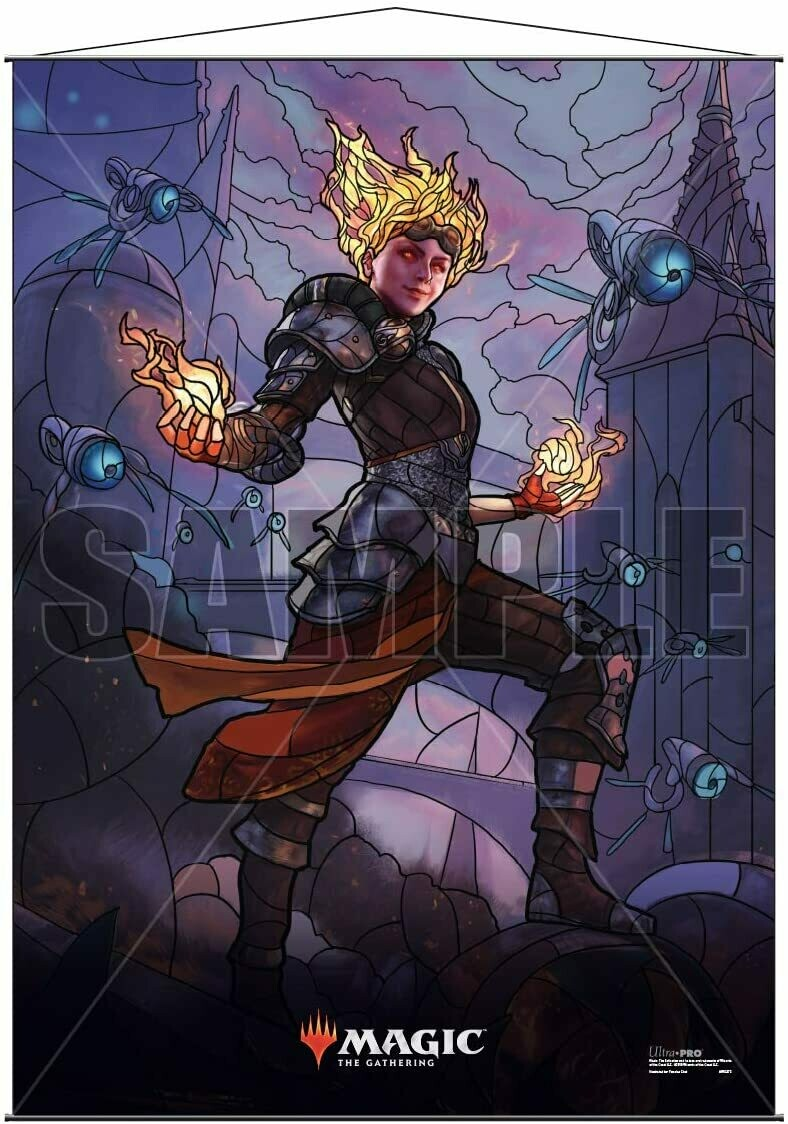 Ultra Pro - Wall Scroll - Magic : The Gathering - Stained Glass Chandra