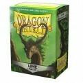 Dragon Shield 100 Sleeves - Matte Lime