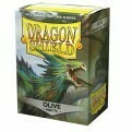 Dragon Shield 100 Sleeves - Matte Olive