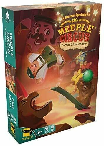 Meeple Circus -  Esp. Animali Selvaggi & Acrobazie