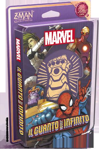 Marvel: Il Guanto dell'infinito - un gioco Love Letter
