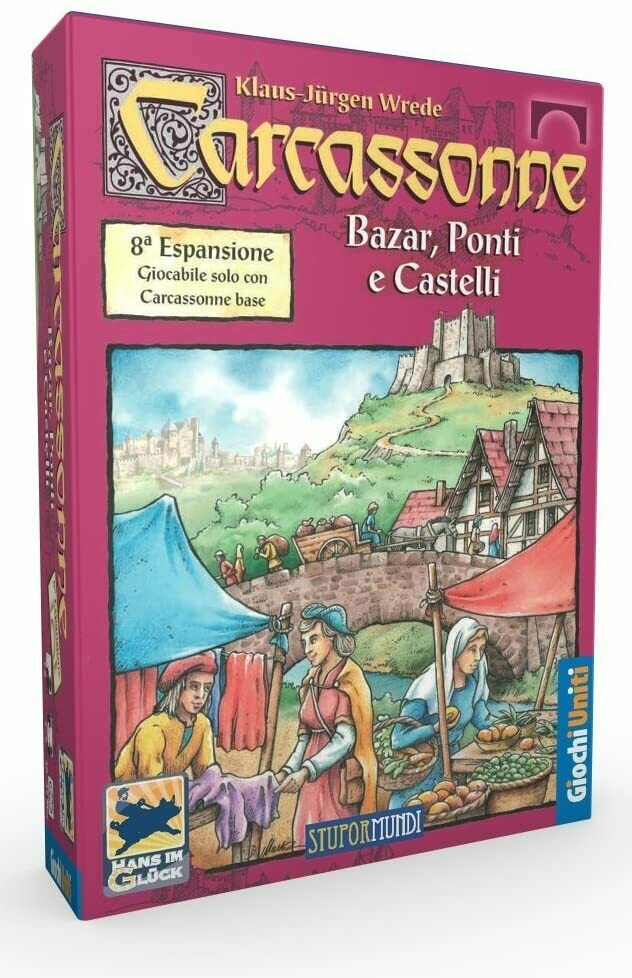 Carcassonne - Bazar, ponti e castelli