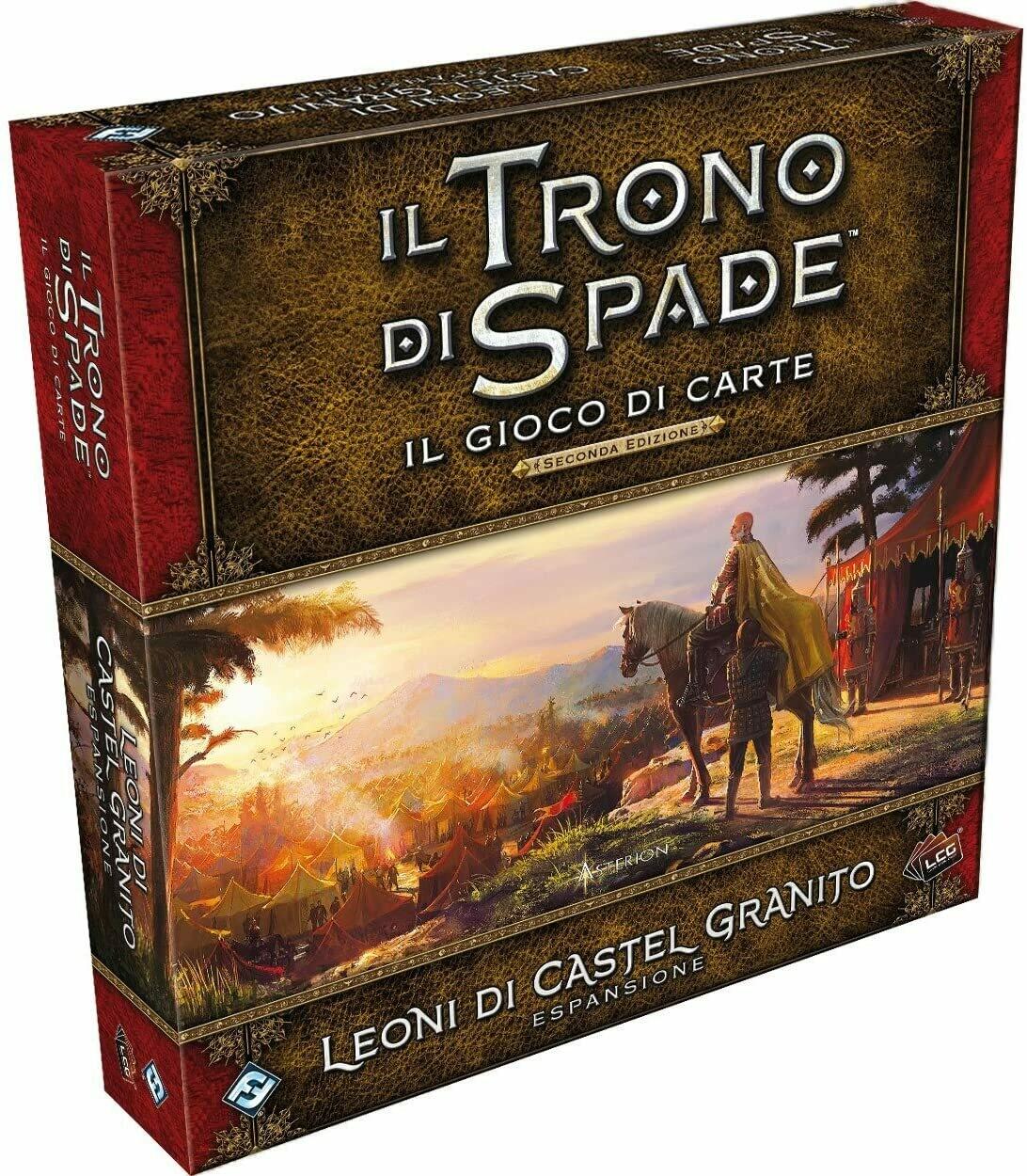 I Leoni di Castel Granito - Il trono di spade LCG - Il gioco di carte (2a ed.)