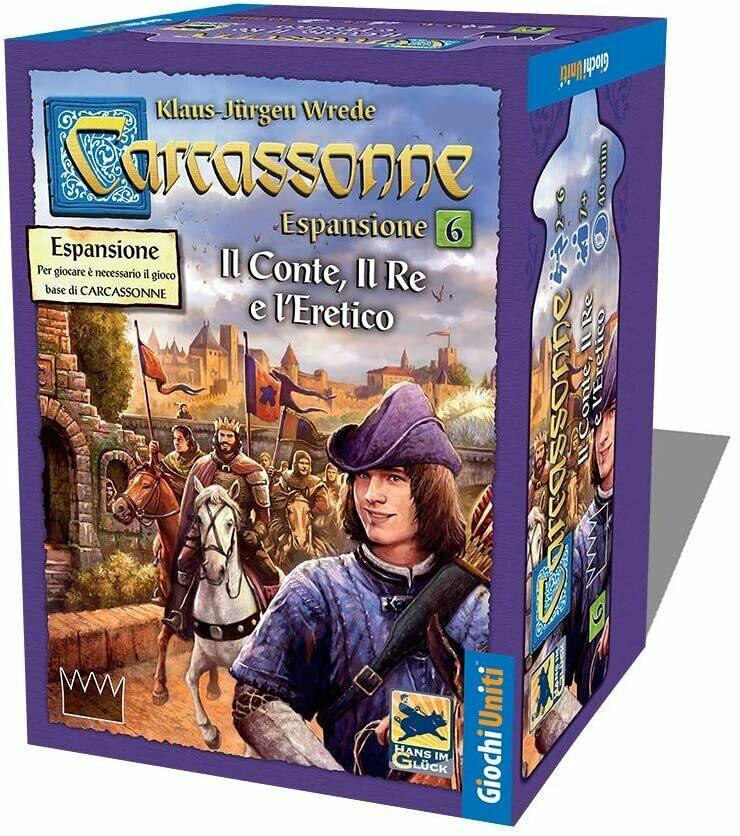 Carcassonne - Il conte, il re e l'eretico
