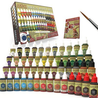 Army Painter Warpaints Mega Paint Set
