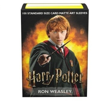 Dragon Shield 100 Sleeves - Art Ron Weasley