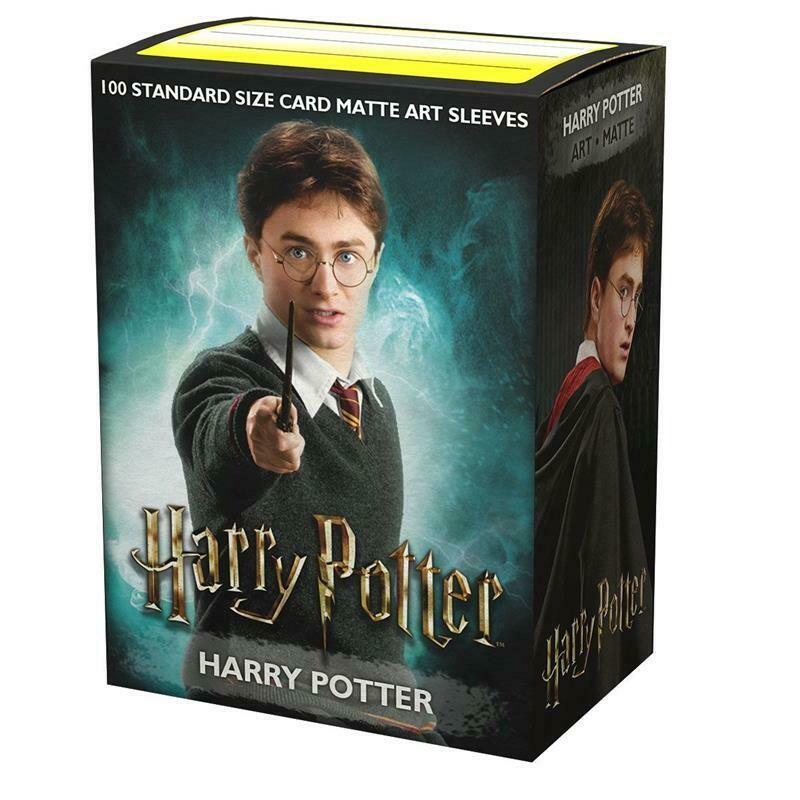 Dragon Shield 100 Sleeves - Art Harry Potter