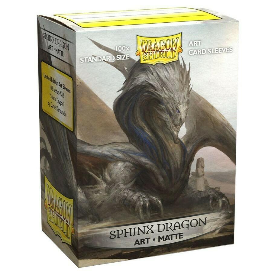 Dragon Shield 100 Sleeves - Matte Art Sphinx Dragon