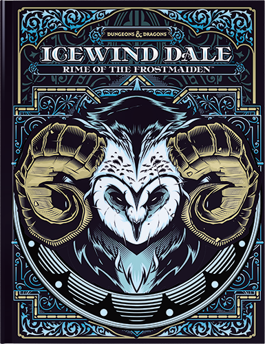 D&D Icewind Dale - Rime of the Frostmaiden Alternate Art - Quinta Ed.