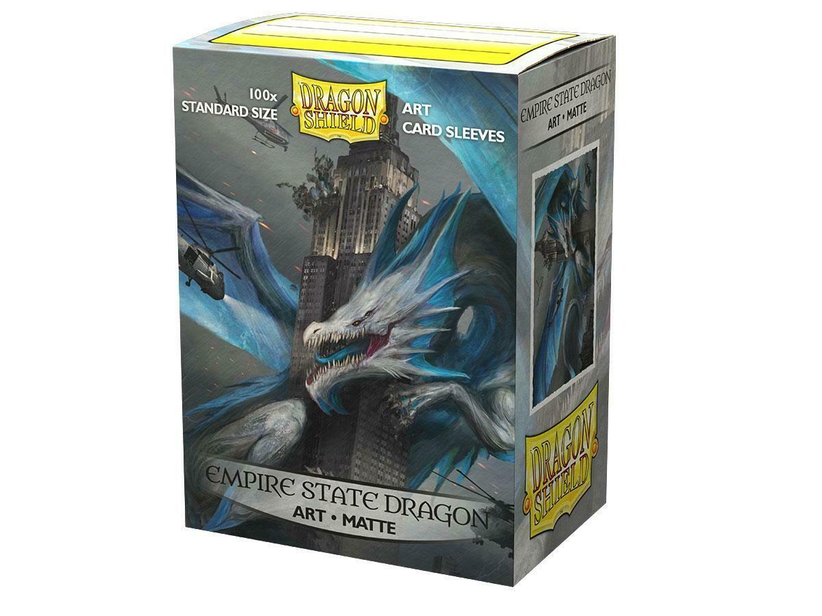 Dragon Shield 100 Sleeves - Matte Art Empire State Dragon