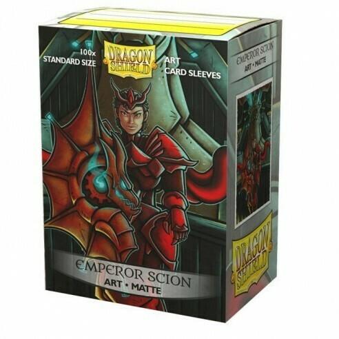 Dragon Shield 100 Sleeves - Matte Art Emperor Scion