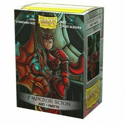 Dragon Shield 100 Sleeves - Matte Art Emperor Scion