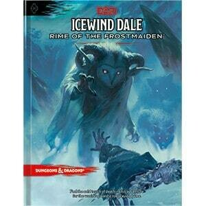 D&D Icewind Dale - Rime of the Frostmaiden - Quinta Ed.